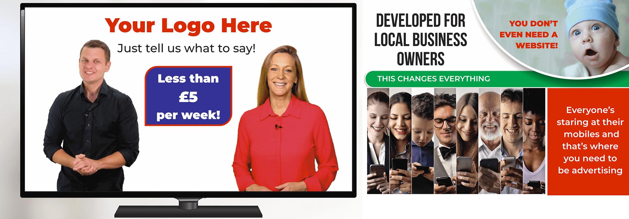 video leaflets trade order page  viraltv.co.uk  viraltv