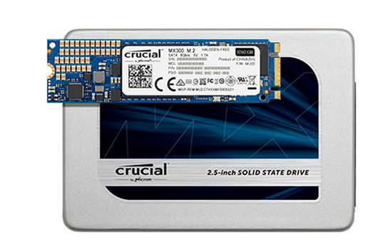 It's Crucial to have quality memory and SSD! Click here to order!  PC or Mac
