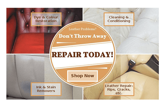 Did you know there's a Clinic for your Furniture? Leather Sofa Restoration!